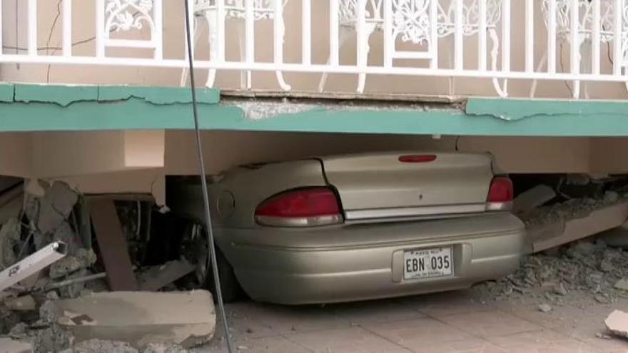 Un terremoto siembra el pánico en Puerto Rico