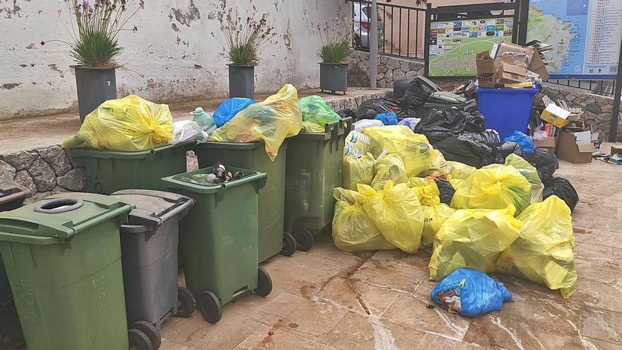 Der Müllstreik von Capdepera ist abgeblasen