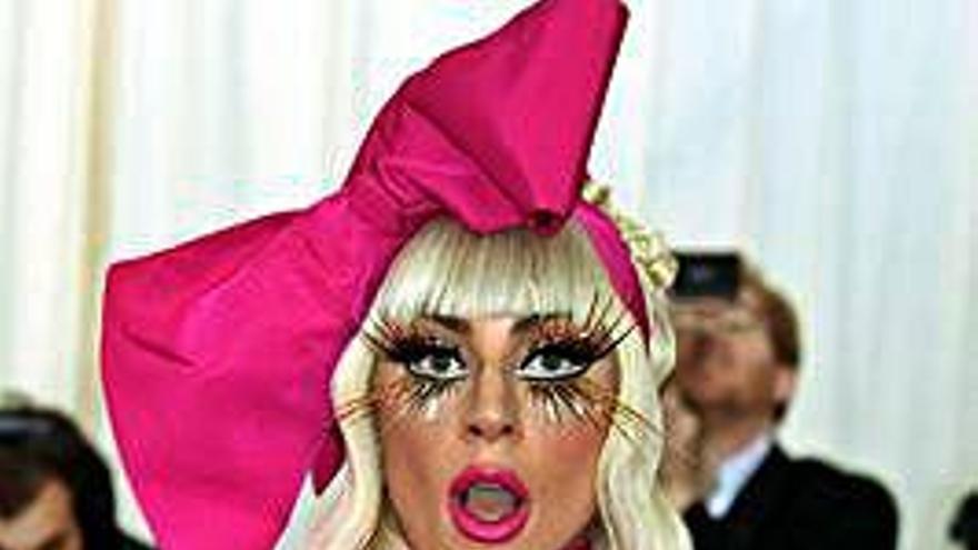 Lady Gaga no estaba con Bradley Cooper