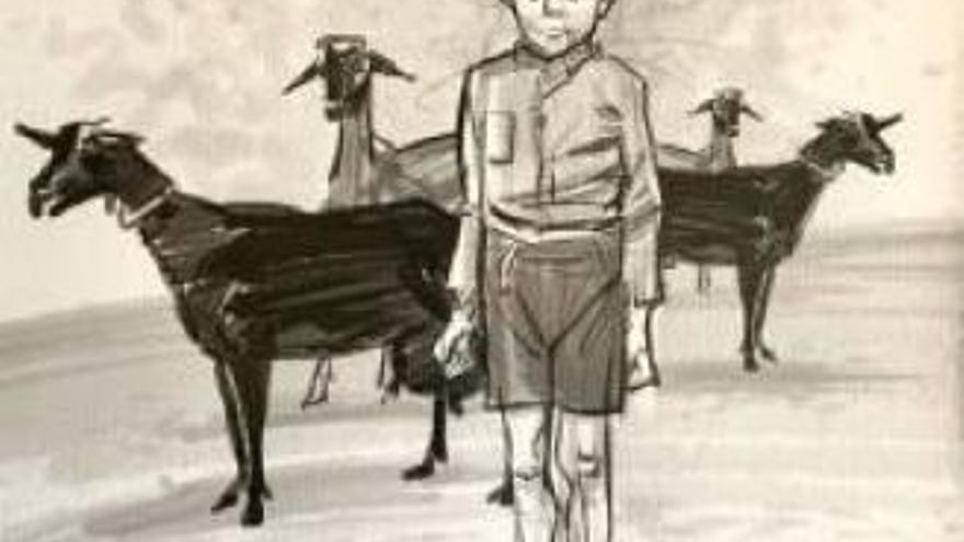 Paco Sáez dibuja los versos de Miguel Hernández