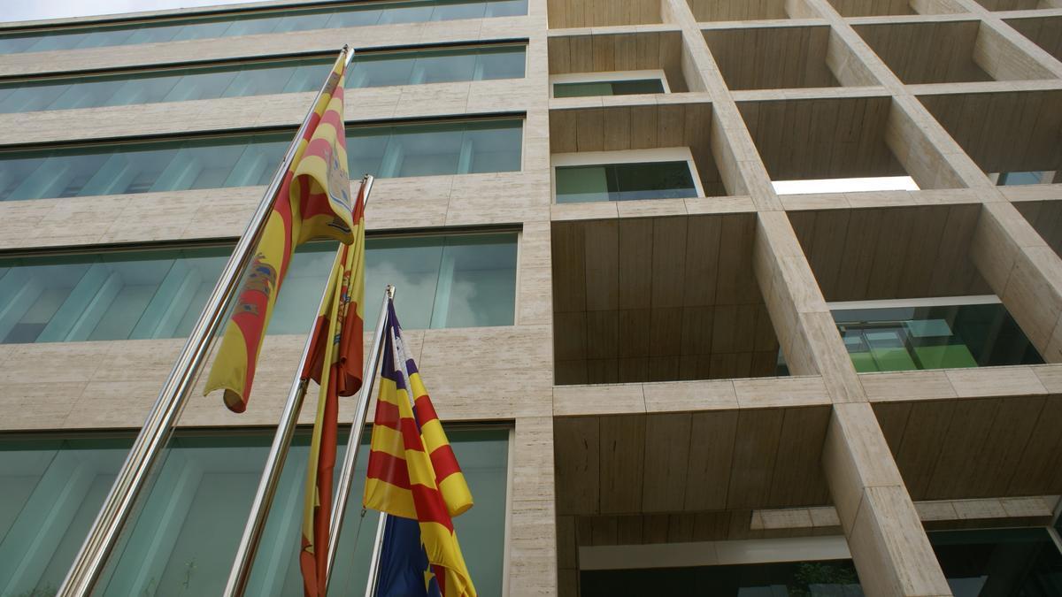 Imagen de la sede del Consell, que impuso la sanción.