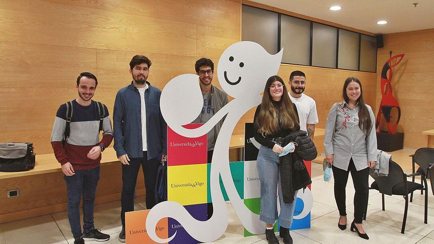 El campus de Ourense recibe a 8 estudiantes descendientes de gallegos emigrados