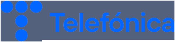 Logo Telefónica.